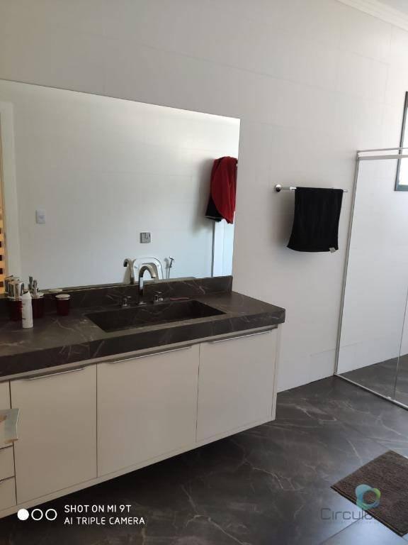 casa à venda, 430 m² por r$ 2.490.000,00 - alphaville - ribeirão preto/sp - ca0315