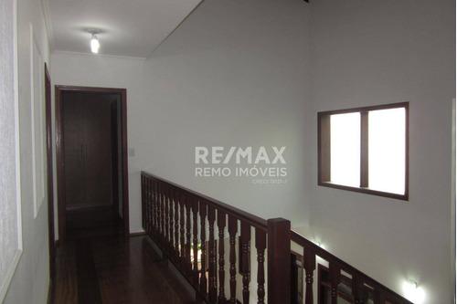 casa à venda, 445 m² por r$ 1.500.000 - condomínio bosques de grevílea - vinhedo/sp - ca1520