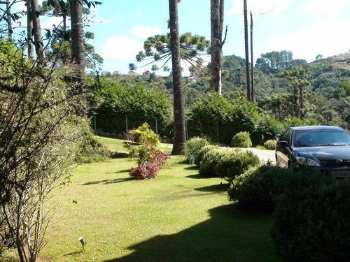 casa à venda, 450 m² por r$ 1.900.000 - recanto araucária - campos do jordão/sp - ca0570