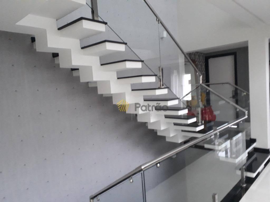 casa à venda, 495 m² por r$ 2.700.000,00 - swiss park - são bernardo do campo/sp - ca0170