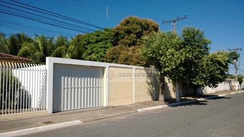 casa à venda, 542 m² por r$ 1.000.000,00 - jardim califórnia - cuiabá/mt - ca1125