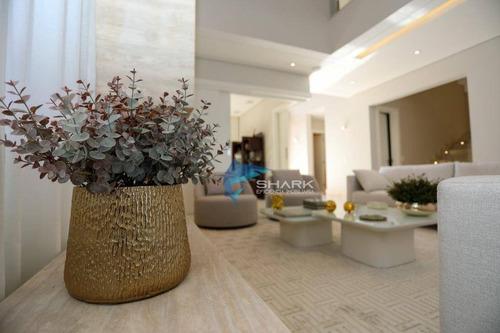 casa à venda, 555 m² por r$ 4.200.000,00 - tamboré 10 - santana de parnaíba/sp - ca0054
