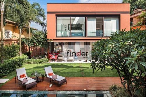 casa à venda, 591 m² por r$ 5.500.000,00 - jardim guedala - são paulo/sp - ca0746