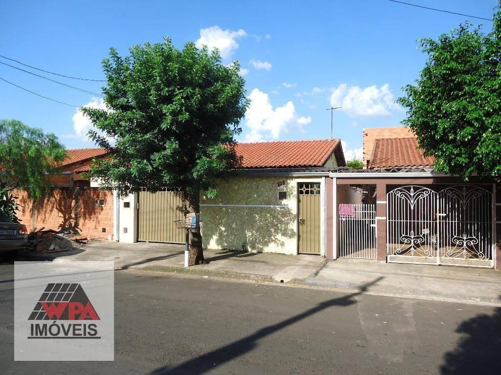 casa à venda, 60 m² por r$ 210.000,00 - jardim dos lírios - americana/sp - ca1352
