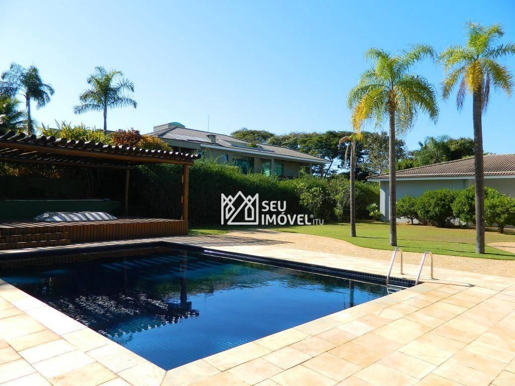 casa à venda, 608 m² por r$ 3.800.000,00 - condomínio terras de são josé - itu/sp - ca1514