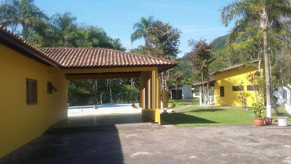 casa à venda, 650 m² por r$ 410.000,00 - enseada - iguape/sp - ca1702