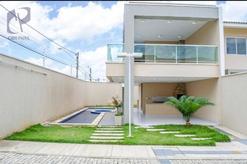 casa à venda, 70 m² por r$ 230.000,00 - parque santa maria - fortaleza/ce - ca2921