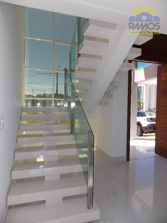 casa à venda, alphaville natal, 5 suítes - ca0055