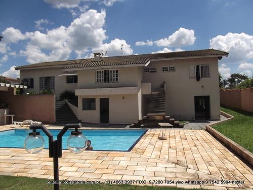 casa venda - atibaia - sp - at 9156