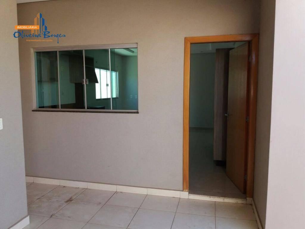 casa à venda com 3 dormitórios por r$500.000,00 - parque brasília 2ª etapa - anápolis/go - ca0888