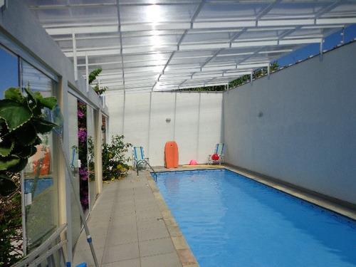 casa à venda com piscina aquecida. ref. 128 e 275 cris