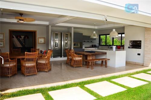 casa à venda, condomínio jardim acapulco - guarujá - ca1127