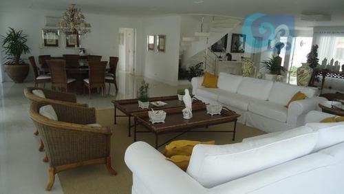 casa à venda, condomínio jardim acapulco - guarujá - ca1151