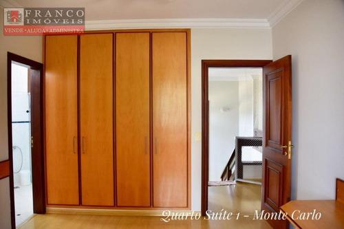 casa à venda, condomínio monte carlo, valinhos. - ca0163