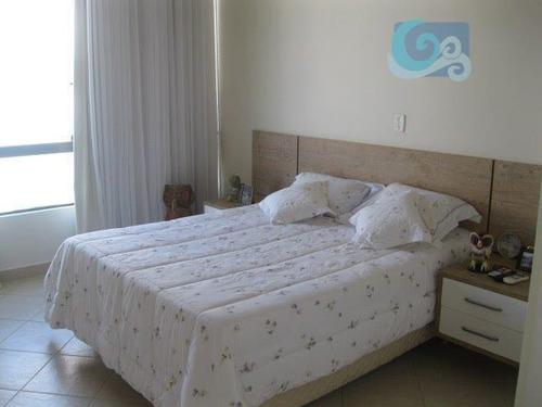 casa à venda, condomínio península, praia da enseada - guarujá - ca1353