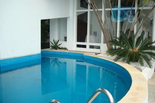 casa à venda - condomínio península - praia da enseada - guarujá - ca1369