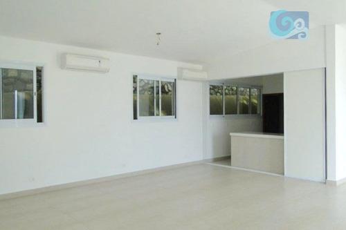 casa à venda - condomínio península - praia da enseada - guarujá. - ca1632