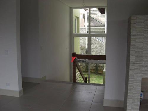casa à venda em atibaia, alto padrão em condomínio - ca0795