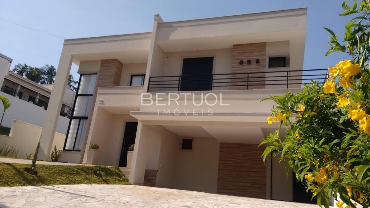 casa à venda em condomínio terras de vinhedo - ca007552
