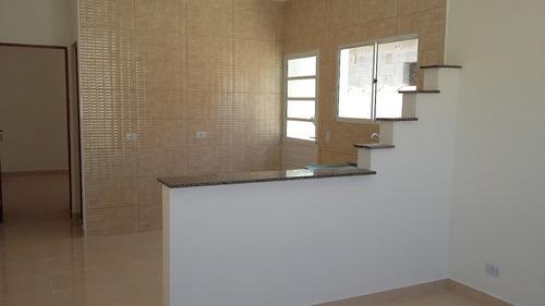 casa à venda em fase de acabamento em itanhaém. ref. 318