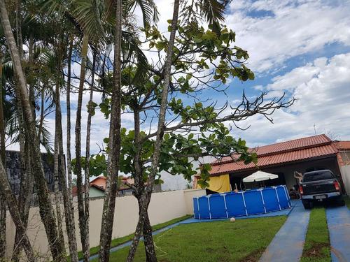casa à venda espaçosa 500 metros da praia. ref. 313
