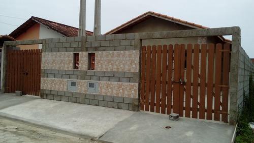 casa à venda geminada em itanhaém. ref. 469 e 154 cris.