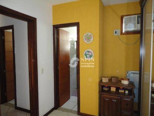 casa à venda, itaipu, niterói de 3 quartos sendo 1 suíte, com churrasqueira e piscina. - ca0363