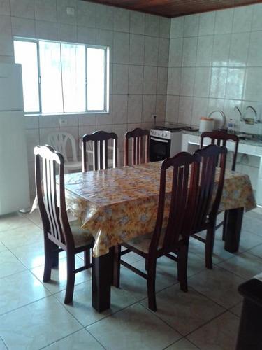 casa à venda lado praia em itanhaém. ref. 428 e 101cris