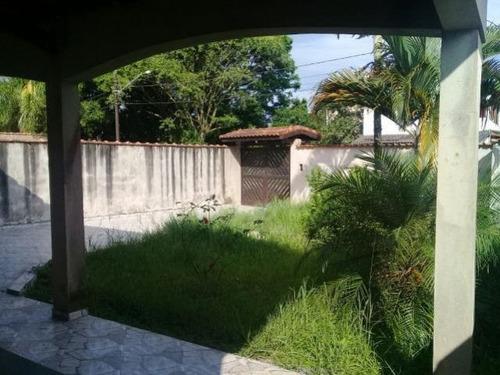casa à venda lote inteiro,  1.200 m. da praia, ref. 0021 l c