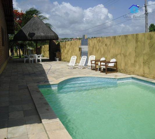 casa à venda na praia de carapibus, conde. - ca0232