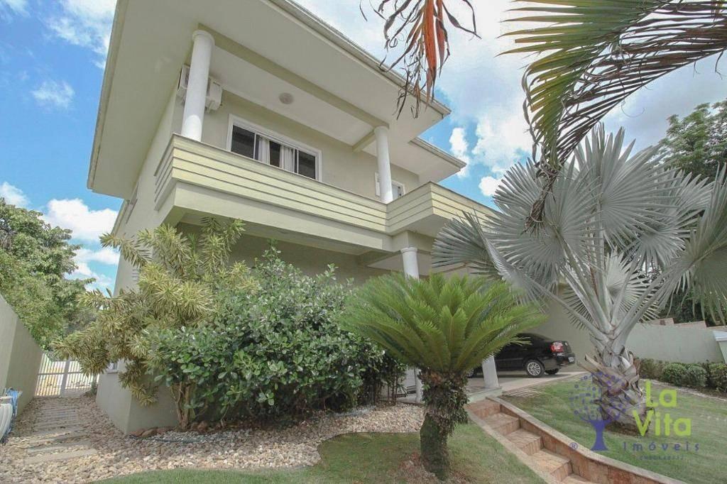 casa à venda no condomínio fechado city figueiras 03 suítes - oportunidade - com piscina semi-mobiliada blumenau/sc - ca0453