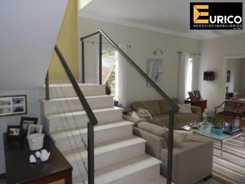 casa à venda no condomínio residencial millenium em valinhos - ca01234 - 33470561