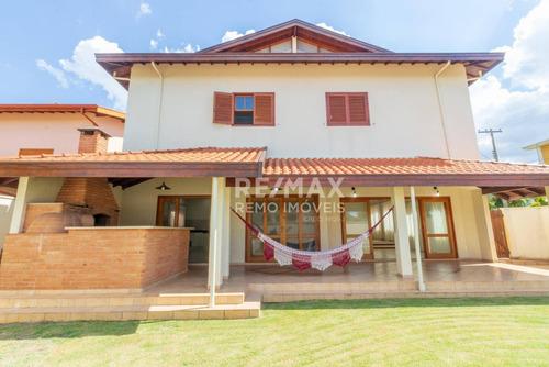 casa à venda no condomínio residencial terras do caribe - valinhos/sp - ca6462