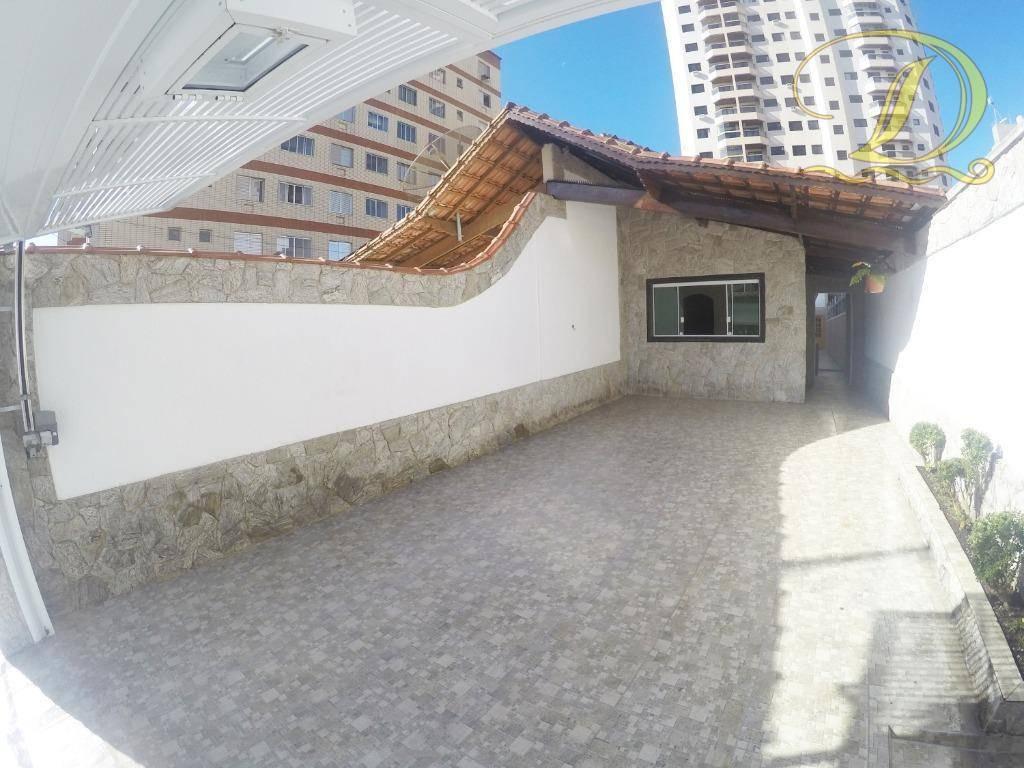 casa à venda perto da praia em praia grande com edicula e  4 vagas!!! - ca0164
