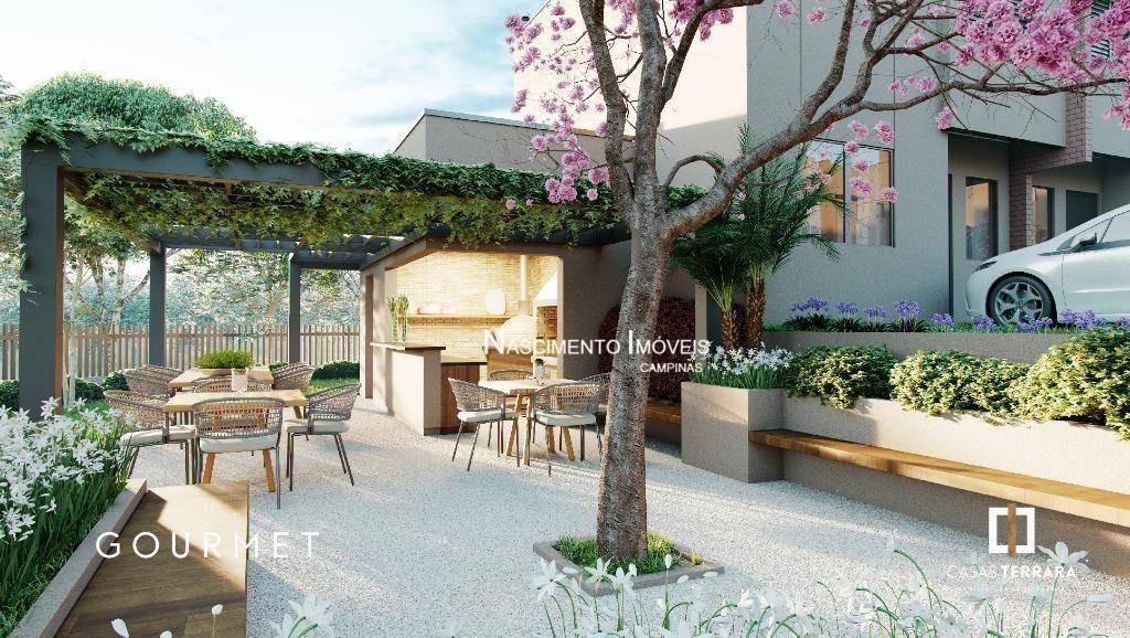 casa à venda por r$ 657.000 - parque rural fazenda santa cândida - campinas/sp - ca0337