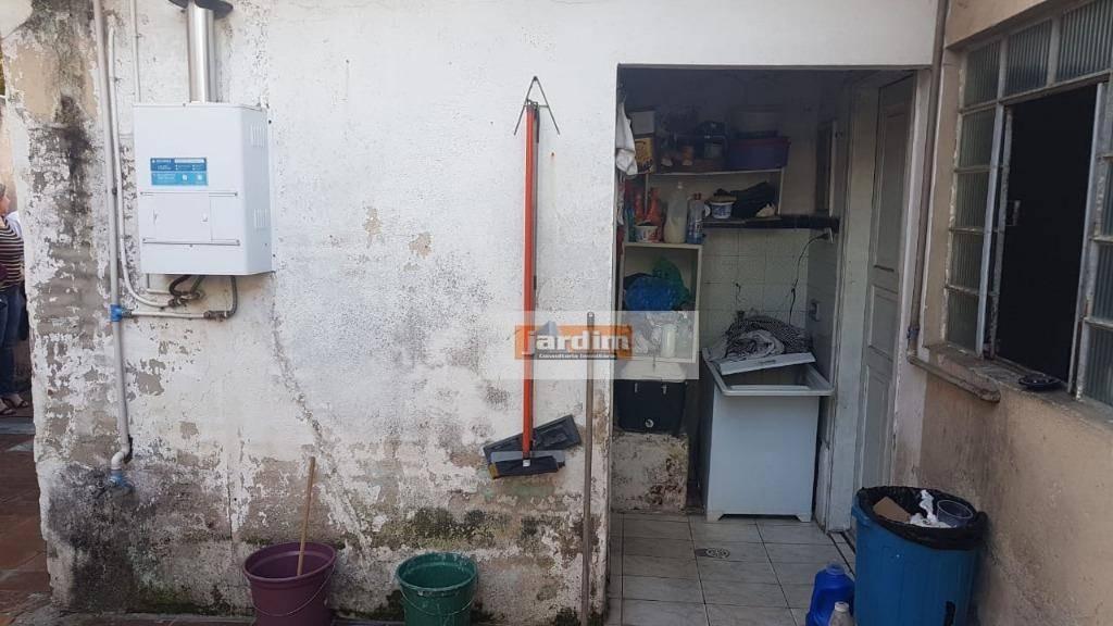 casa à venda quitada com 3 dormitórios, sala, cozinha, banheiro, quintal, 167 m² por r$ 170.000 - vila dayse - são bernardo do campo/sp - ca1034
