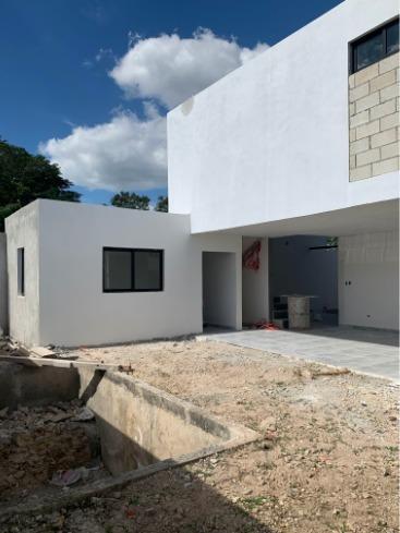 casa venta en bosques de conkal/ lote 112
