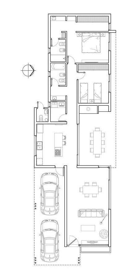 casa venta estrenar 2 dormitorios piscina lote 1000 m2 - la rinconada