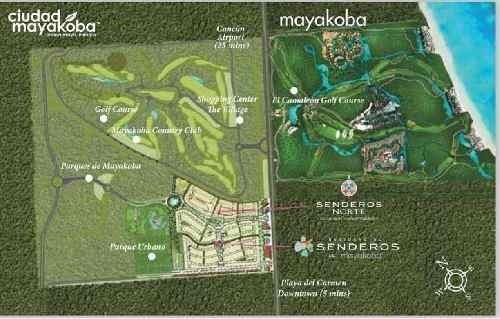 casa venta senderos de mayakoba riviera maya