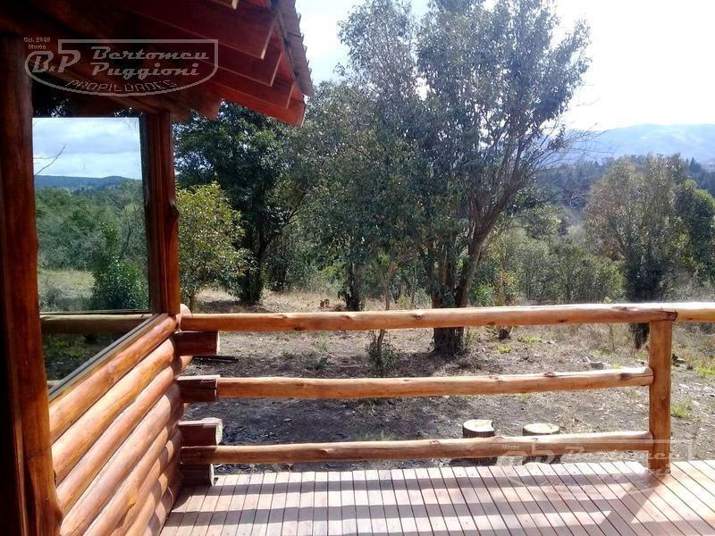 casa venta - sierras de córdoba - cabaña 2 dorm - vista panorámica - u$s 31.000 - oportunidad!