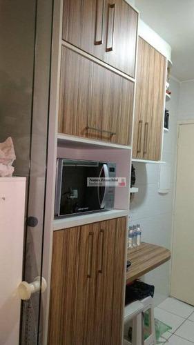 casa verde alta - zn/sp - apartamento 2 dormitórios,1 vaga - r$ 285.000,00 - ap6115