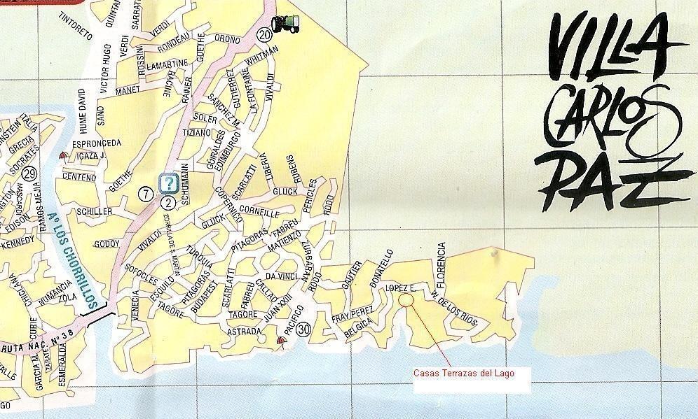 casa - villa carlos paz-salida al lago