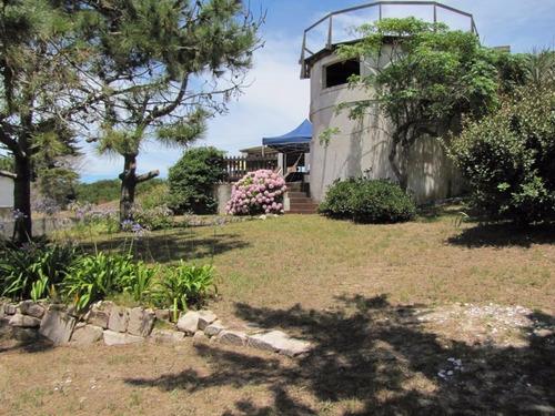 casa  vista al mar  balneario la esmeralda rocha enero,marzo
