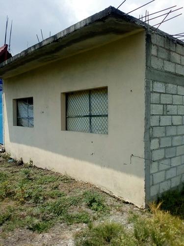 casa y terreno 239 mts. yautepec, morelos habitable, descans