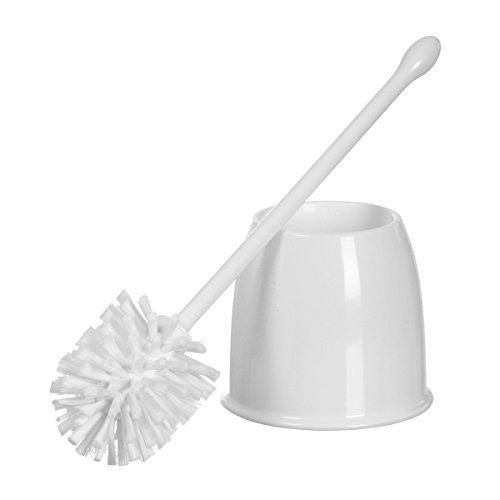 casabella toilet bowl pincel con set holder, blanca