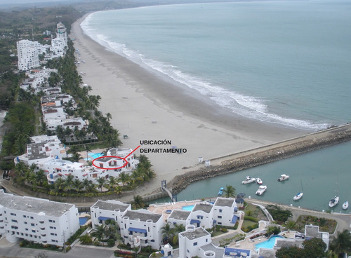 casablanca exclusiv departamento frente mar playa 6 per.same