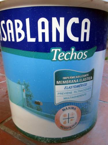 casablanca pasta membrana elástica techos 20kg