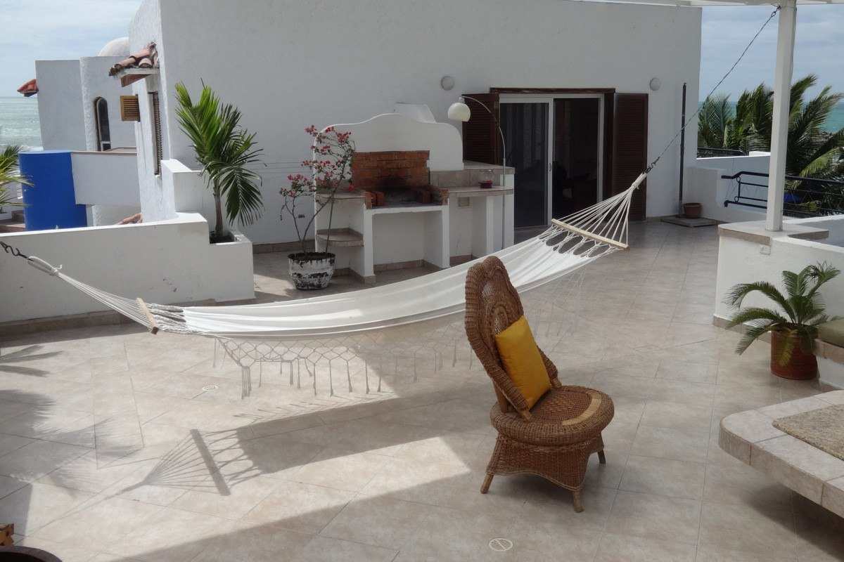 casablanca penthouse de lujo frente mar playa 8 pers. same