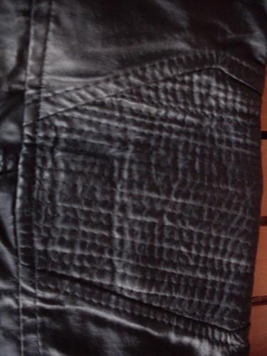 casaca 100% cuero blando argentino