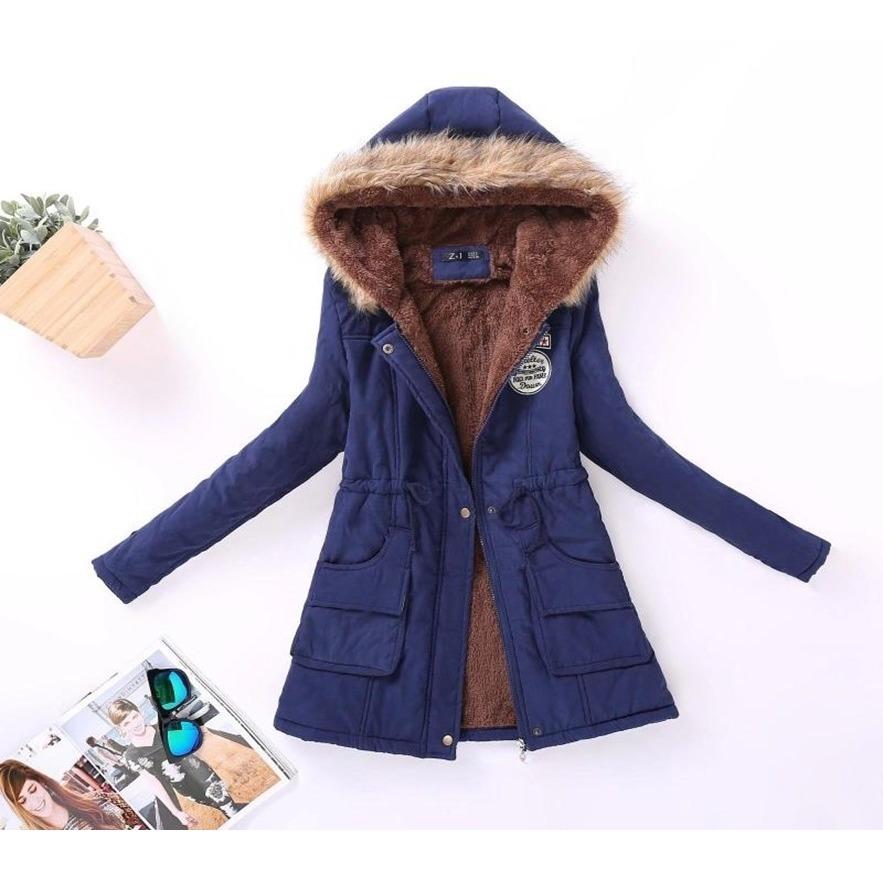 diseño de calidad 33db8 9d80b Casaca Abrigo Parka Mujer/ Moda Coreana  Corea Chic